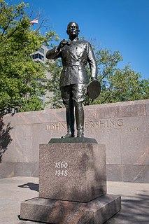<i>John J. Pershing General of the Armies</i> public artwork