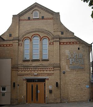 Stowmarket - John Peel Centre Centre for Creative Arts, formerly the corn exchange
