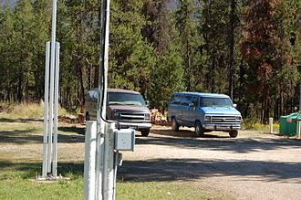 Johnson Creek Airport - Courtesy cars are available for a small fee at the airport
