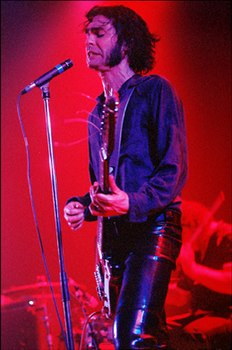 Jon Spencer con i Jon Spencer Blues Explosion nel 2006.