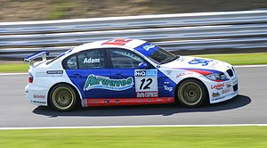 Jonathan Adam - Adam competing at Oulton Park in 2009.