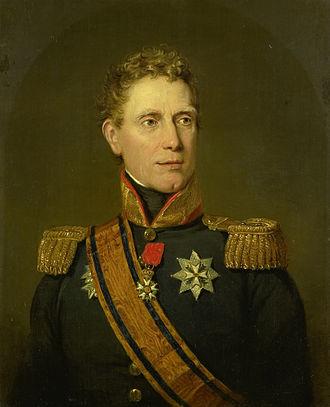 Jan Willem Janssens - Portrait by Jan Willem Pieneman.