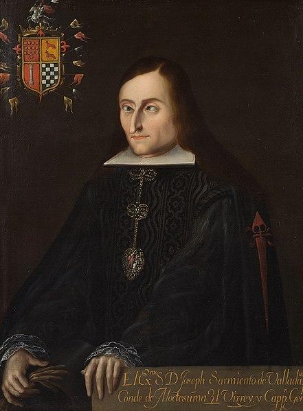 Retrato de José Sarmiento de Valladares.