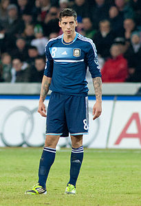 Jose Sosa - Switzerland vs. Argentina, 29th February 2012 (cropped).jpg