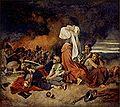 Josef Matyáš Trenkwald - Bitva u Lipan 30.května 1434.jpg