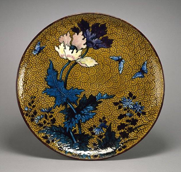 File:Joseph-Théodore Deck - Large Plate - Walters 481909.jpg