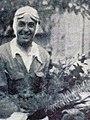 Joseph Paul, vainqueur du Critérium Paris-Nice 1937, sur Delahaye.jpg