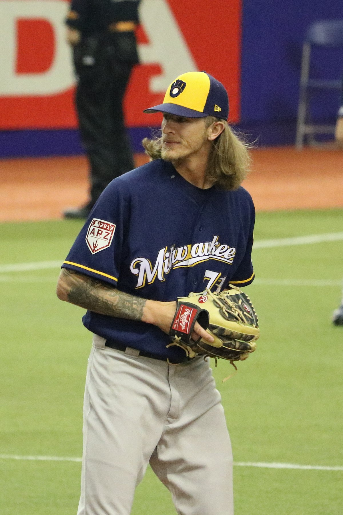 picture about Milwaukee Brewers Printable Schedule called Josh Hader - Wikipedia