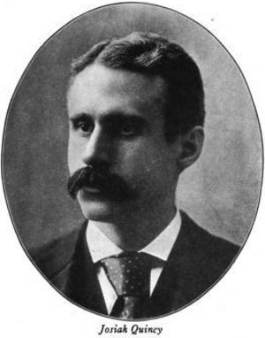 Josiah Quincy (1859–1919) - Image: Josiah Quincy 35th Mayor