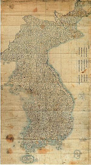 Jiandao - Image: Josun jundo jido late 1700