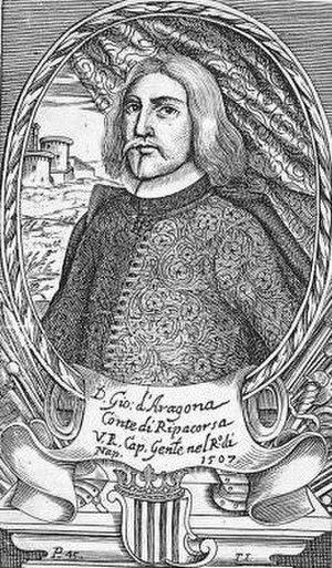 Juan de Aragón y de Jonqueras, 2nd count of Ribagorza - Juan de Aragón y de Jonqueras, 2nd Count of Ribagorza