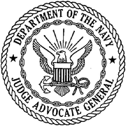 Judge Advocate General - Department of the Navy