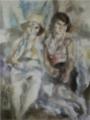 JulesPascin-1929-Two Gypsy Women.png