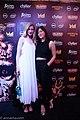 Julia Hart and Brit Marling red carpet Fantastic Fest 2015-9855 (27366803171).jpg