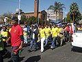 July 2009 S. African municipal workers' strike, march.jpg