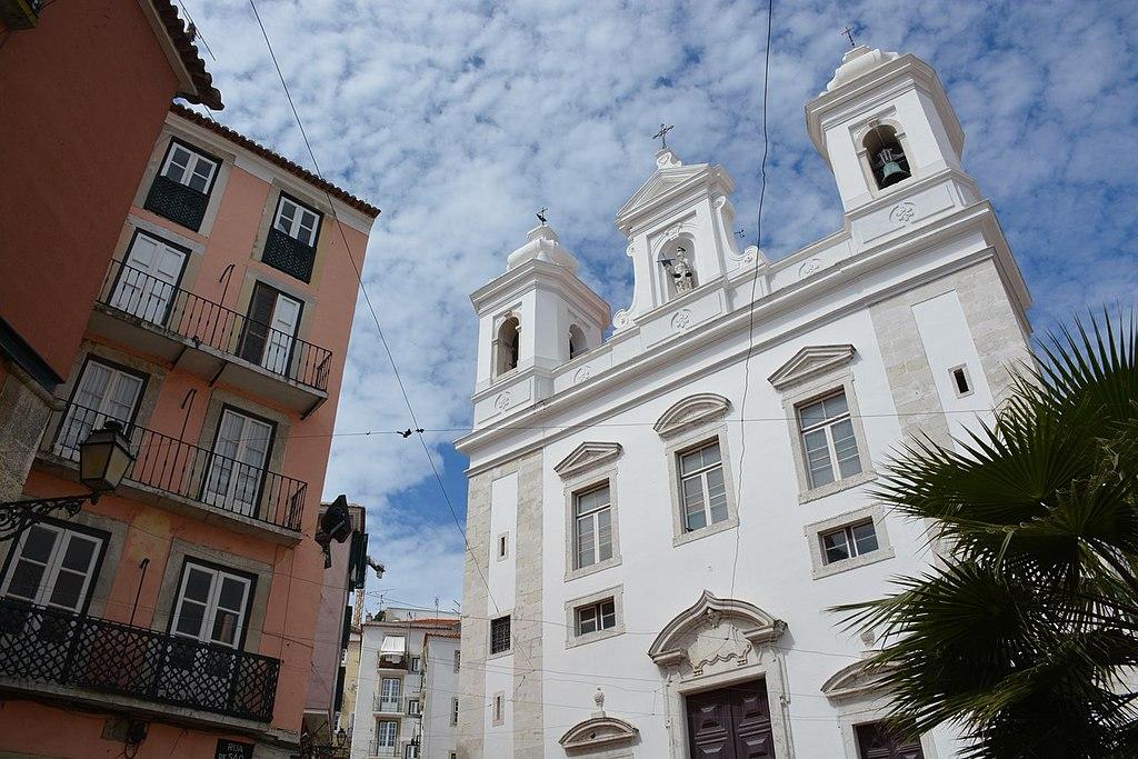 Eglise Igreja Sao Miguel à Lisbonne - Photo de Paul Arps