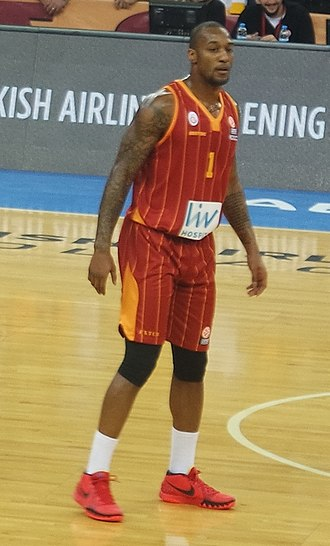 Justin Carter - Carter with Galatasaray in February 2015.