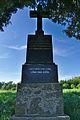 Kříž u silnice na Bělecký mlýn, Hluchov, okres Prostějov.jpg