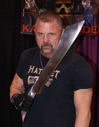Kane Hodder - Hodder at the 2014 Scarefest