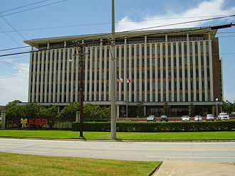 East End, Houston - KBR offices on Clinton Drive