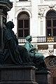 Kaiser Franz-Denkmal Hofburg Wien 2015 Sitzfiguren Friede Glaube 3.jpg