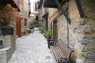 Kakopetria - Mediaeval streets in Kakopetria
