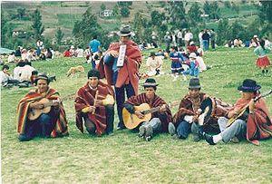 Cañari - Cañari musicians