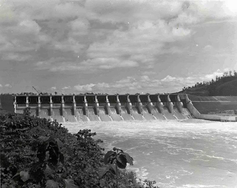 Kaptai Dam 1965