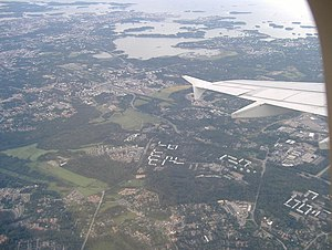 Karakallio and Kilo from air.jpg