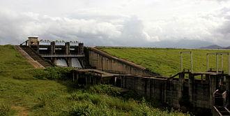 Dam - Karapuzha Dam, an earth dam in the Indian state of Kerala