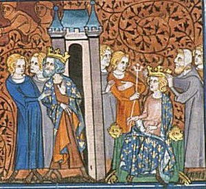 Rudolph of France - Rudolph crowned while Charles the Simple is imprisoned