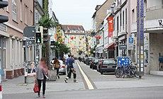 Karlsruhe, die Waldstraße, Südteil.jpg