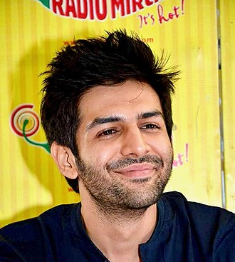 Kartik Aaryan - Aaryan at an event for Kaanchi: The Unbreakable in 2014