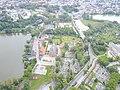 Kartuzy carthusian monastery aerial photograph 2019 P06.jpg