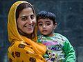 Kashmiri Lady and Son (14570772131).jpg