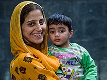 Kashmiri Lady and Son (14570772131).jpg