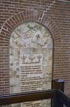 kasteeltoren, tekstplaquette bij de entree - nieuwkuijk - 20333296 - rce