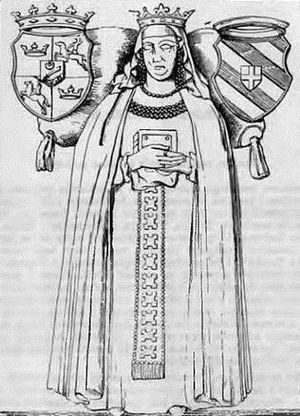 Catherine of Bosnia - Image: Katarinina ploča