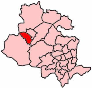 Keighley West electoral ward of Bradford City Council