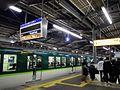 Keihan Kayashima station platform - panoramio - DVMG.jpg