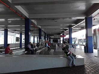Kelana Jaya LRT station - Image: Kelana Jaya LRT bus hub
