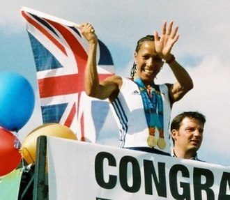 Kelly Holmes - Holmes on parade