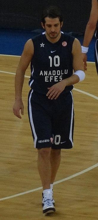 Kerem Tunçeri - Tunçeri with Anadolu Efes