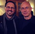 Kevin Keller with Brian Eno, May 2013.jpg