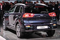 Kia Niro EV rear view photo