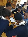 Kids playing Little Alchemy game at Randburg Library.jpg