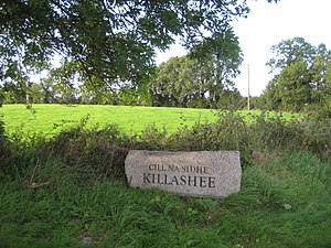 Killashee - Image: Killashee Road Sign