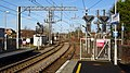 Kilwinning railway station. View north from Largs line platforms, North Ayrshire, Scotland.jpg