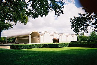 Structuralism (architecture) - Kimbell Art Museum in Fort Worth, 1972 (Louis Kahn)