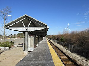 Kingston Route 3 MBTA station, Kingston MA.jpg